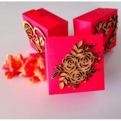 Triple Rose cake box