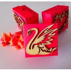 Royal Swan cake box