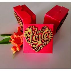 Lover's cake box
