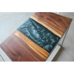 Epoxy Metalic Table