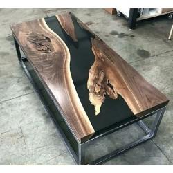 Epoxy Vintage Black table