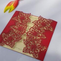 Hibocus Rose flower card
