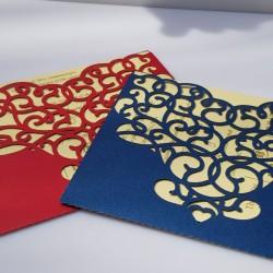 Envelope style liyawel card