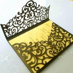 Envelope style royal card