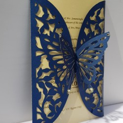 Two door Butterfly card