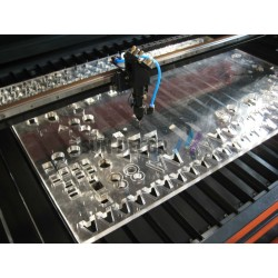 Online Low power Lasercutting
