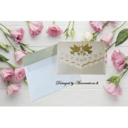 Elegant Embossed invitation...