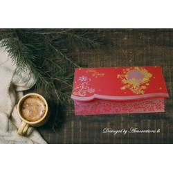 Classic embossed card with...