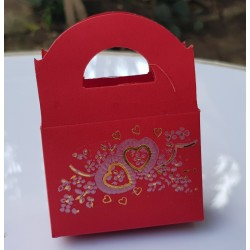 Hand bag type box