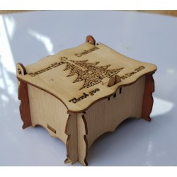 Wooden Cake box with Top...