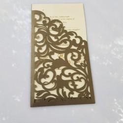 Lasercut Economy Card
