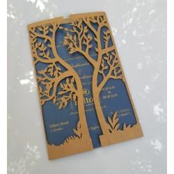 Natural tree card