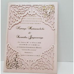 Luxury foil card with laser...